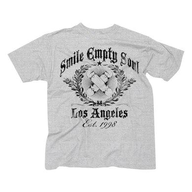"Smile Empty Soul ""Established 1998""  Men's T-Shirt - Heather Grey"