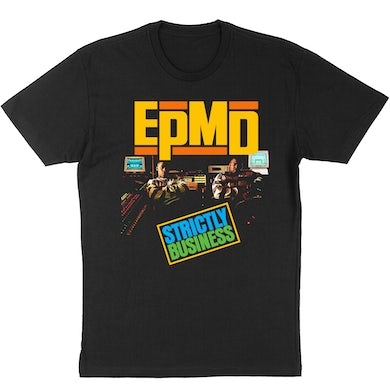 """EPMD """"Strictly Business"""" Album Cover Photo T-Shirt"""