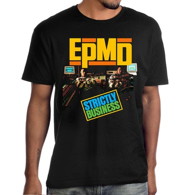 """Epmd Strictly Business"""" Album Cover Photo T-Shirt"""