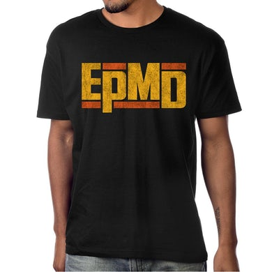 "Epmd Classic Logo"" Men's Black T-shirt"
