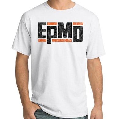 "Epmd Classic Logo"" Men's White T-shirt"