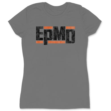 "EPMD ""Classic Logo"" Women's T-Shirt in Silver"