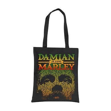 "Damian Marley ""Lyrical Face and Name"" tote bag"