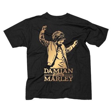 "Damian Marley ""Euro Tour 2017"" men's t-shirt with tour dates"