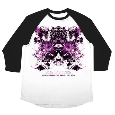 "Smile Empty Soul Sean Danielsen ""Mind Control To Steal The Soul"" 3/4 sleeve raglan"