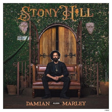 """Damian Marley """"Stony Hill"""" LIMITED EDITION Lithograph Poster"""
