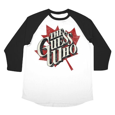 """The Guess Who """"Maple Leaf"""" 3/4 sleeve raglan"""