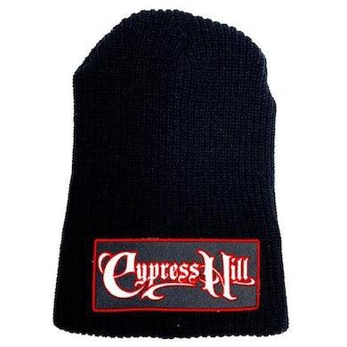 "Cypress Hill ""Script Logo"" Black Slouch Beanie"