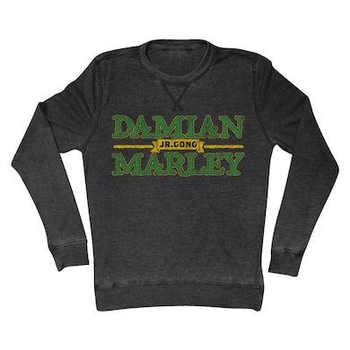 """Damian Marley """"Jr Gong"""" Long Sleeve Thermal Shirt"""