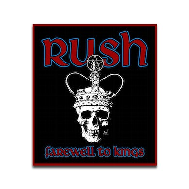 """Rush """"Farewell To Kings"""" Patch"""