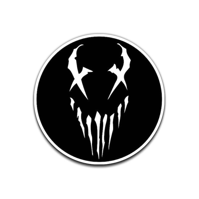 """Mushroomhead """"X Face"""" Patch White"""