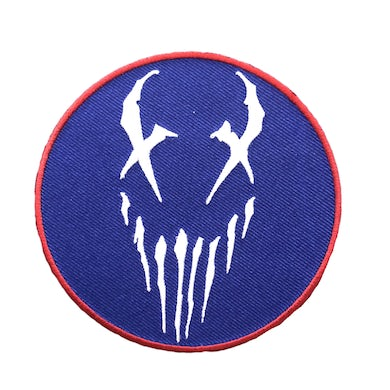 "Mushroomhead ""X Face"" Patch Blue"