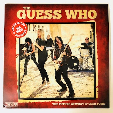 """The Guess Who LIMITED """"The Future IS What It Used To Be"""" Vinyl"""