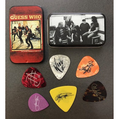 The Guess Who LIMITED EDITION Guitar Pic Pack