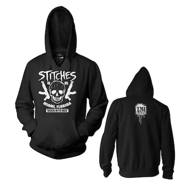 "Stitches ""Brick In Yo Face"" Black Pullover Hoodie"
