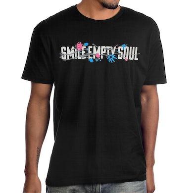 """Smile Empty Soul """"Flower Logo"""" T-Shirt"""