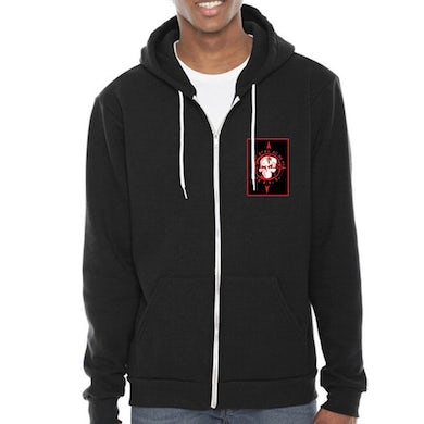 """Cypress Hill """"Elephants on Acid"""" Zip up Hoodie with Embroidered Patch"""