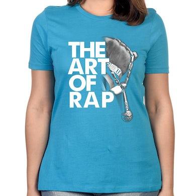 "Art of Rap ""Photo"" Women's T-Shirt - Aqua"