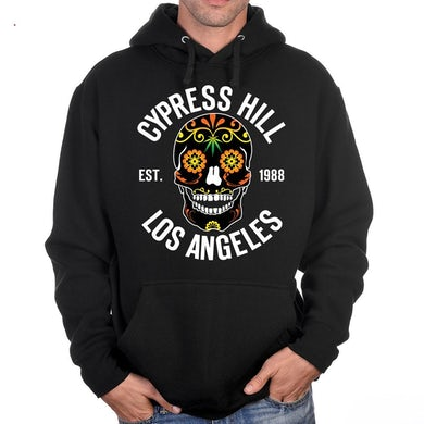 """Cypress Hill """"Day of the Dead"""" Pullover Hoodie"""