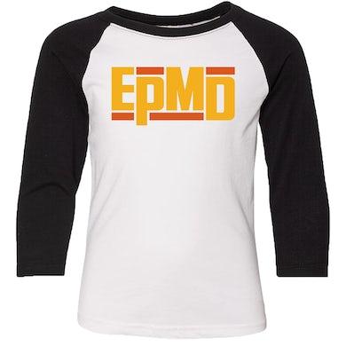 "EPMD ""Classic Logo"" Men's Raglan 3/4 Sleeve Shirt"
