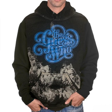 """The Guess Who """"Classic Logo"""" Tie Dyed Pullover Hoodie"""