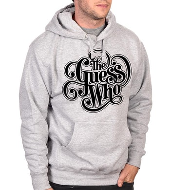 """The Guess Who """"Classic Logo"""" Grey Pullover Hoodie"""