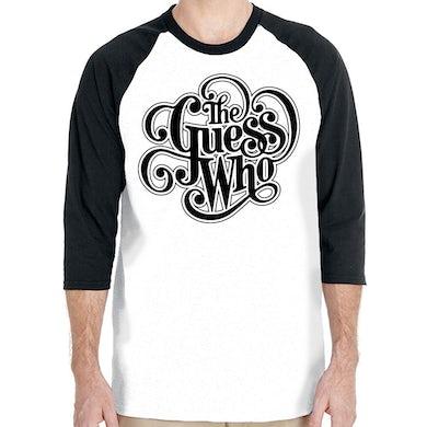 "The Guess Who ""Classic Logo"" Unisex 3/4 Sleeve Raglan"
