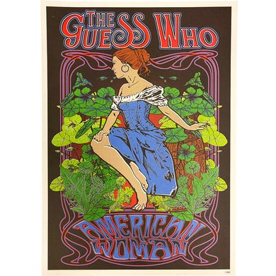 """The Guess Who """"American Woman"""" 22 x 16 Poster"""