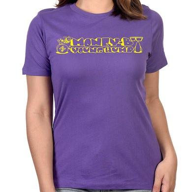 """Money-B & Young Hump"""" Women's T-Shirt in Purple"""