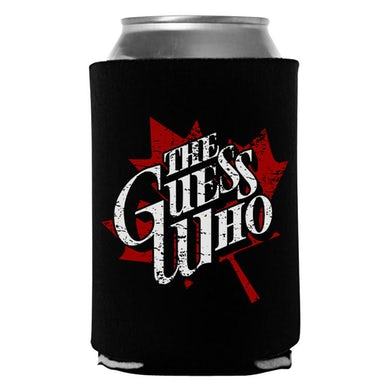 """The Guess Who """"Maple Logo"""" Koozie"""