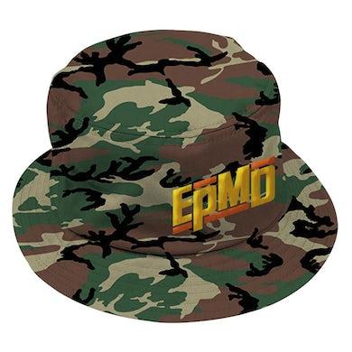 "EPMD ""Classic Logo"" Bucket Hat in Camo"