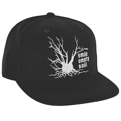 "Smile Empty Soul ""Tree Logo"" Embroidered Snapback Hat"