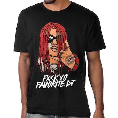 """Doobie DJ Hylyte """"Eff Yo Fav DJ"""" T-Shirt"""
