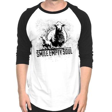 "Smile Empty Soul ""Sheep"" 3/4 Sleeve Raglan"