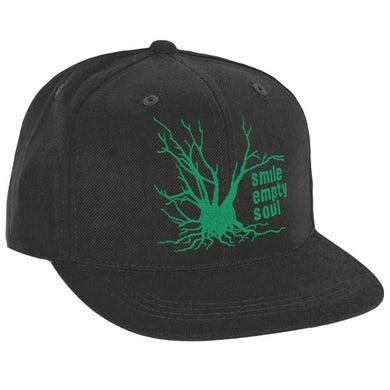 """Tree Logo"""" In Green Snapback Hat"""