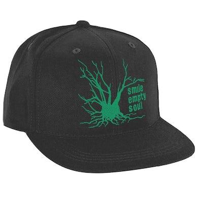 """Smile Empty Soul """"Tree Logo"""" In Green Snapback Hat"""