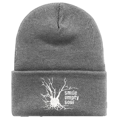 "Smile Empty Soul ""Tree Logo"" Knit Cap - Grey"