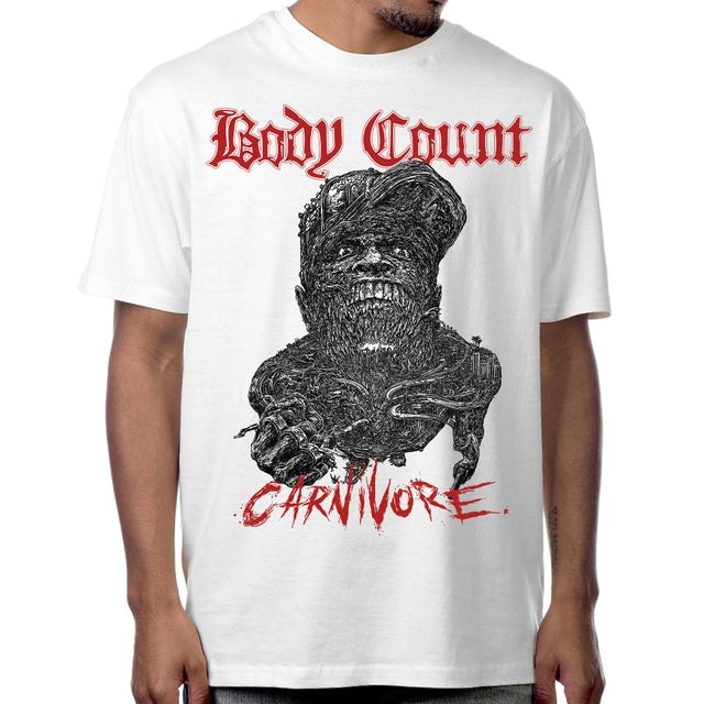 "Body Count ""Carnivore"" T-Shirt In White"