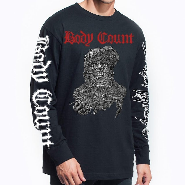 """Body Count """"Carnivore"""" Long Sleeve T-Shirt"""