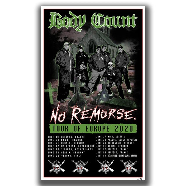 """Body Count """"Graveyard"""" Limited Poster"""