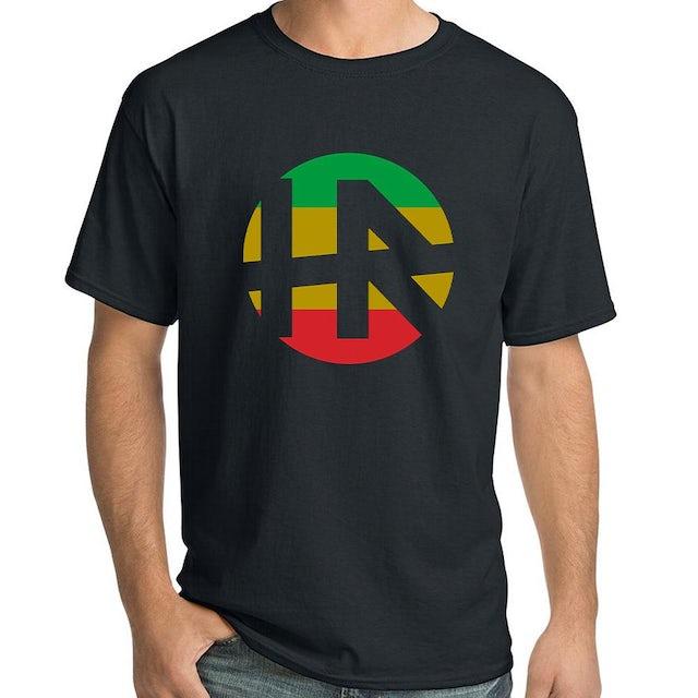 """H.R. """"Rasta Logo"""" T-Shirt"""
