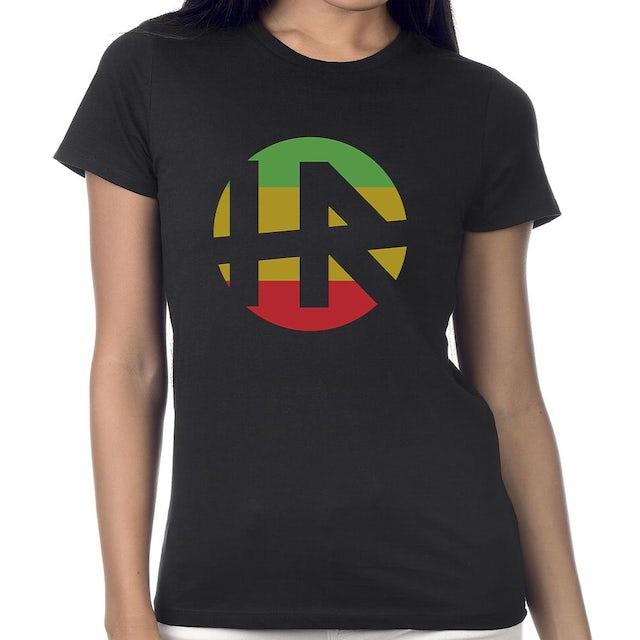 "H.R. ""Rasta Logo"" Women's T-Shirt"