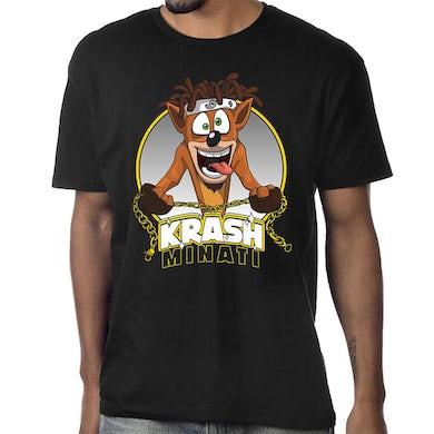 "Doobie Krash Minati ""Bandicoot"" T-Shirt in Black"
