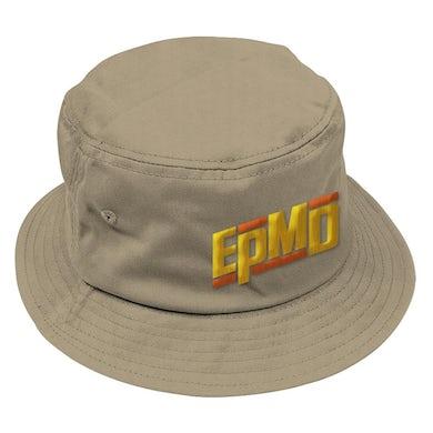 "Epmd Classic Logo"" Bucket Hat in Khaki"