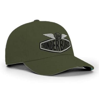 "Car Logo"" Olive Baseball Hat"