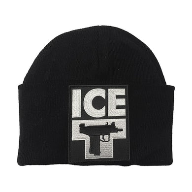 "ICE-T ""Uzi Logo"" Single Fold Beanie"