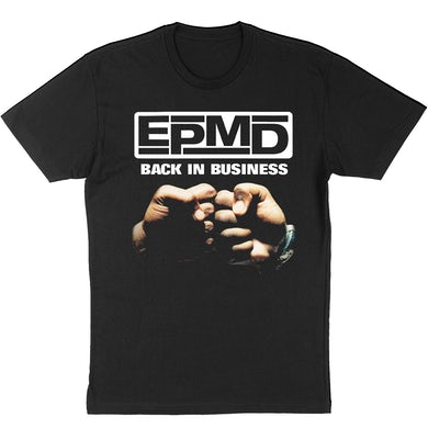 """EPMD """"Back in Business"""" T-Shirt"""