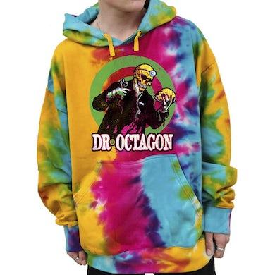 """""""Skull"""" Pullover Hoodie - Tie-Dyed"""