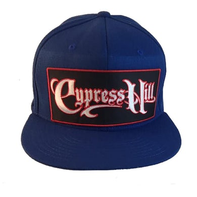 "Cypress Hill ""Script Logo"" Flexfit Hat - Blue"