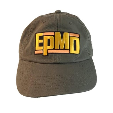 "EPMD ""Classic Logo"" Dad Hat - Olive"